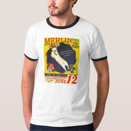 Vintage Circus Corgi Tee Shirt