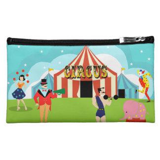 Vintage Circus Cosmetic Bag