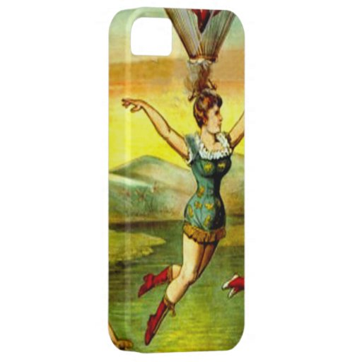 Vintage Circus Freak Lady Hair Hanging Iphone Case iPhone 5 Covers