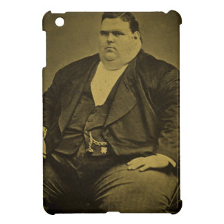Vintage Circus Freak Sideshow Fat Man iPad Mini Covers