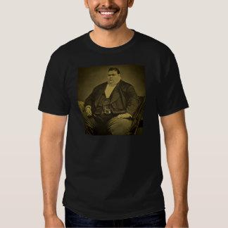 Vintage Circus Freak Sideshow Fat Man Tshirts