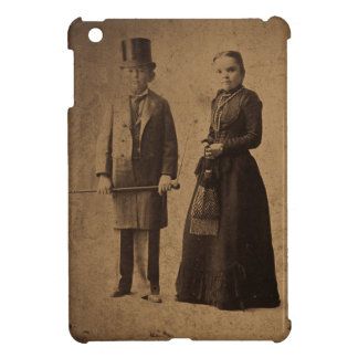 Vintage Circus Freaks Major Ray and His Wife Case For The iPad Mini