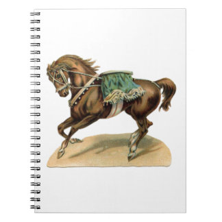 Vintage Circus Horse Notebook