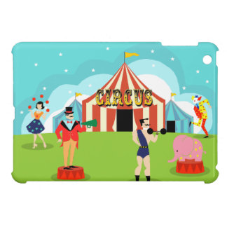 Vintage Circus iPad Mini Case