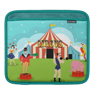 Vintage Circus iPad Sleeve
