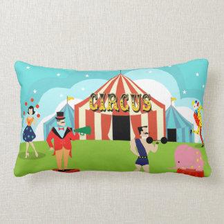 Vintage Circus Lumbar Pillow