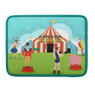 Vintage Circus MacBook Pro Sleeve