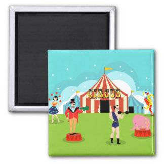 Vintage Circus Magnet