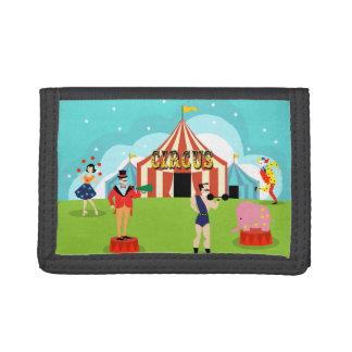 Vintage Circus Nylon Wallet