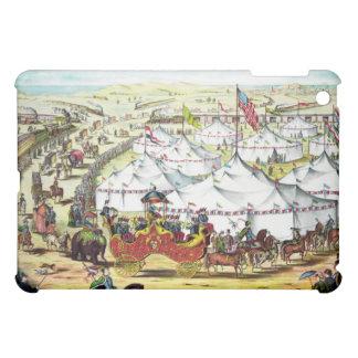 Vintage Circus Parade iPad Mini Cover