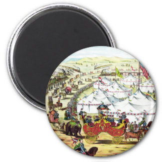Vintage Circus Parade Magnets