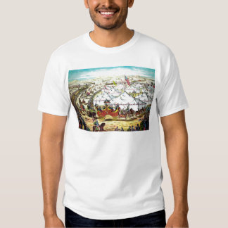 Vintage Circus Parade Tee Shirt