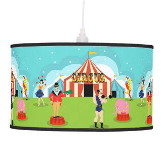 Vintage Circus Pendant Lamp