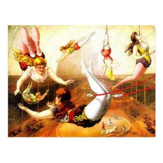 Vintage Circus Postcard 1890