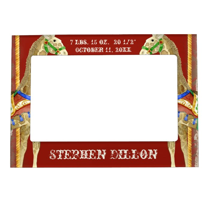 Vintage Circus Text Frame