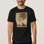 Vintage Circus Poster Human Cannon Ball circa 1879 T-Shirt