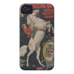 Vintage Circus Poster iphone cases iPhone 4 Covers