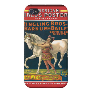 Vintage Circus Poster Speck Case iPhone4 Cases For iPhone 4