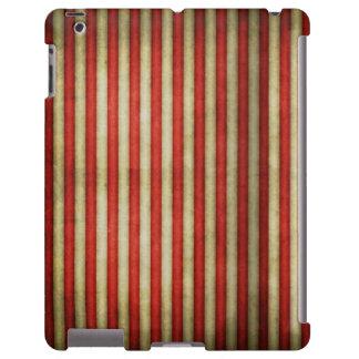 Vintage circus red grunge stripes stripe pattern