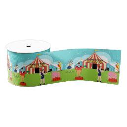 Vintage Circus Ribbon