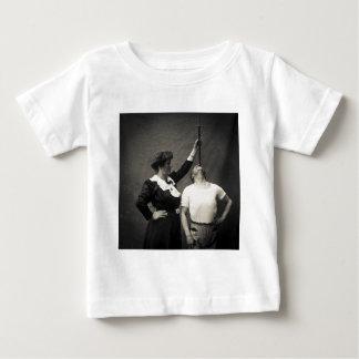 Vintage Circus Sideshow Sword Swallower Freak Baby T-Shirt