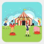Vintage Circus Stickers