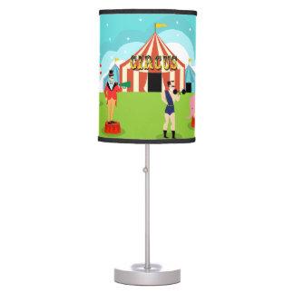 Vintage Circus Table Lamp