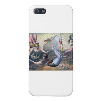 Vintage CIRCUS trapeze horses arena iPhone SE/5/5s Case