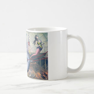 Vintage CIRCUS trapeze horses arena Coffee Mugs