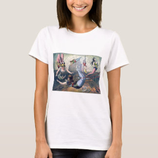 Vintage CIRCUS trapeze horses arena T-Shirt