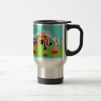 Vintage Circus Travel Mug