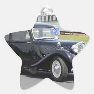 Vintage Citroen Pegatina En Forma De Estrella