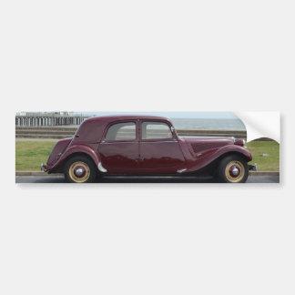 Vintage Citroen Traction Avant Bumper Sticker