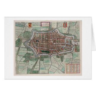 Vintage city map of Alkmaar Card