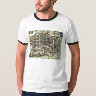 Vintage city map of Enkhuizen T-Shirt