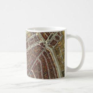 Vintage city map of Leiden Coffee Mug