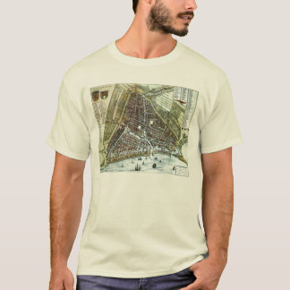 Vintage city map of Rotterdam T-Shirt