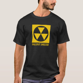 Vintage Civil Defense Atomic Bomb Fallout Shelter T-Shirt