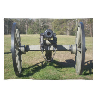 Vintage Civil War Cannon Place Mat