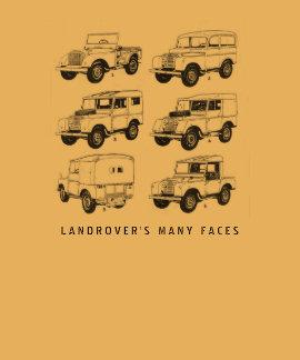Vintage clásico del coche de Land Rover Muti que Playera