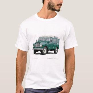 Vintage clásico del coche de Landy Rover de la Playera