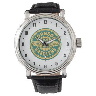 Vintage clásico del servicio de la muestra del gas reloj