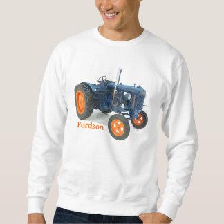 Vintage clásico del tractor de Fordson que camina Sudadera