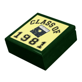 Vintage Class Of 1981 Computer Science Gift Box