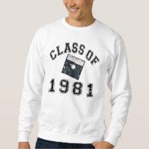 Vintage Class Of 1981 Computer Science Sweatshirt
