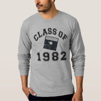 Vintage Class Of 1982 Computer Science T-Shirt