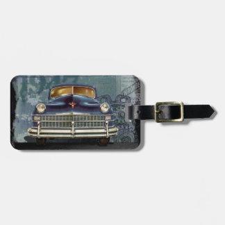 Vintage classic 1947 chrysler bag tag