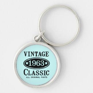 Vintage Classic 1963 Keychains