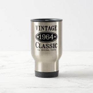 Vintage Classic 1964 15 Oz Stainless Steel Travel Mug