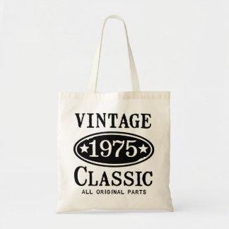 Vintage Classic 1975 Tote Bag